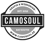 Camosoul Bayreuth | Grafik Webdesign E-Commerce Flyer Werbung iPhone Apps logo